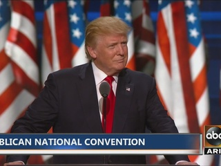 RAW VIDEO: Trump speaks at Republican convention