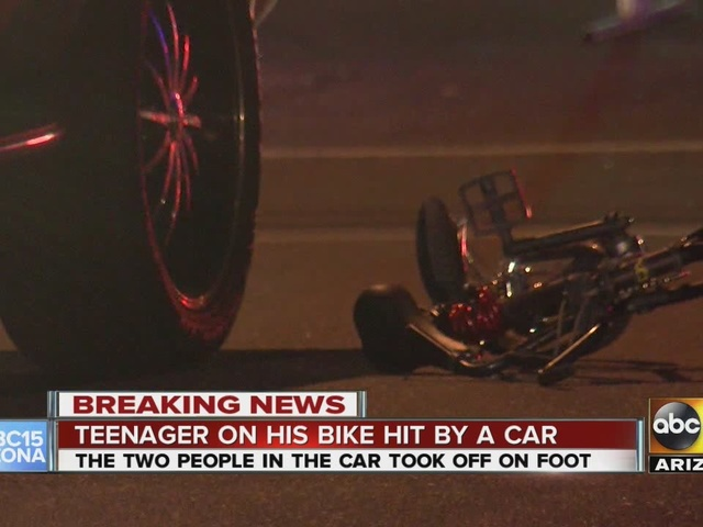 Bicyclist seriously injured in Phoenix hit-and-run