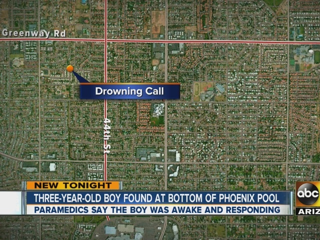 Valley departments respond to several near-drowning calls