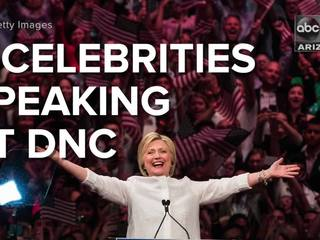 VIDEO: 9 celebs to look for at the DNC