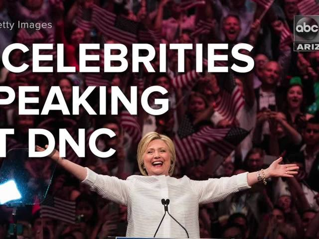 9 celebrities speaking at DNC - ABC15 Digital