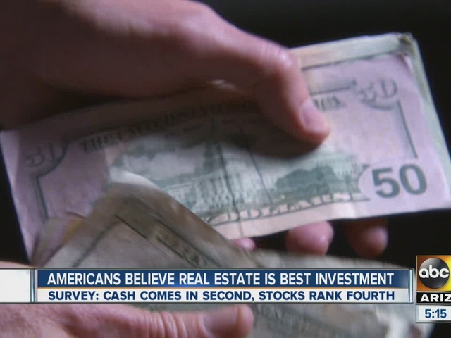 Americans believe real estate is best investment