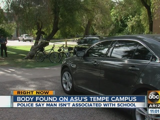 PD: Man's body found on ASU campus