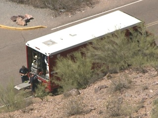 PHX FD called to Piestewa Peak for ill hiker