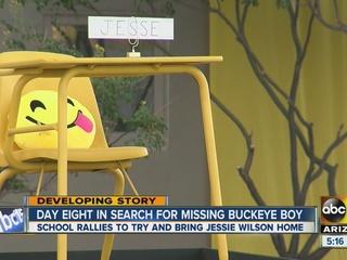 School continues search for missing Buckeye boy