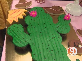 Ice cream, cupcakes and cakes
