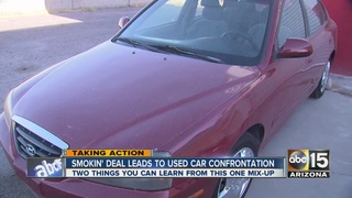 Used car leads to big issues in Apache Junction
