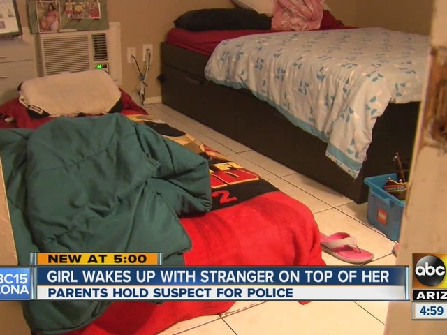 14-year-old wakes up to man on top of her