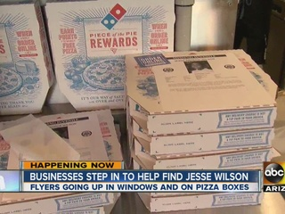 Buckeye Domino's delivers pizza, 'missing' flyer