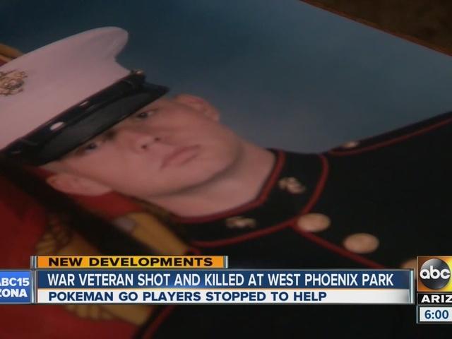 Eight-year Marine veteran killed in shooting at Phoenix park
