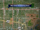 Suspect breaks down door, shoots Phoenix man