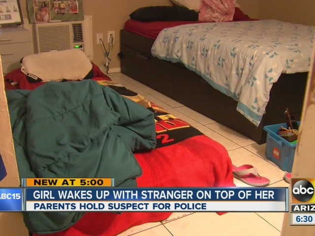 Mesa teen wakes up to stranger on top of her