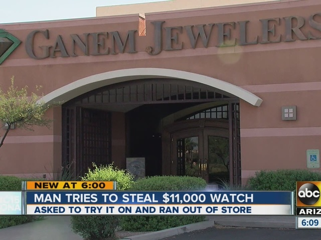 Phoenix police: Man tries to steal $11,000 watch