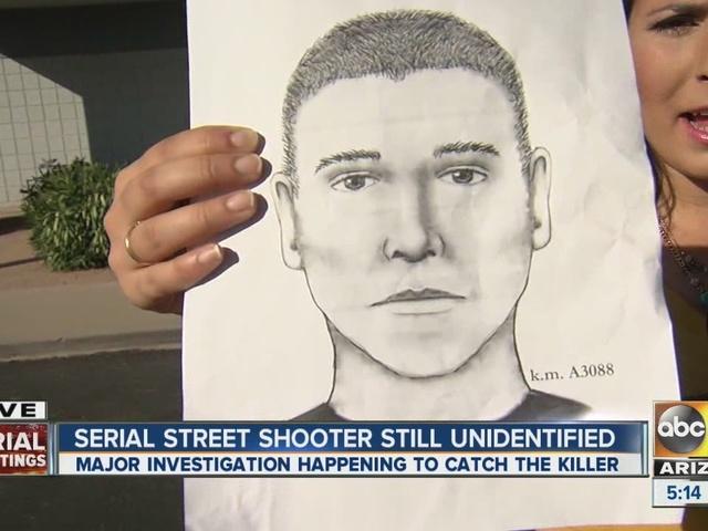 Serial street shooter still unidentified