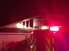 FD: Lightning sparks house fire in Scottsdale