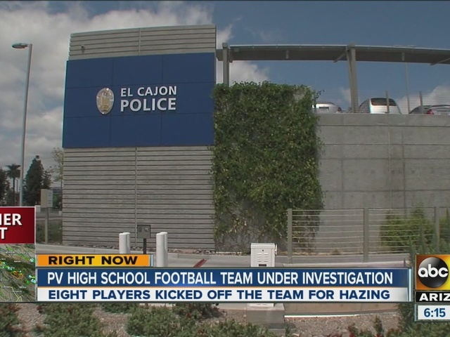 Paradise Valley football team under investigation for hazing