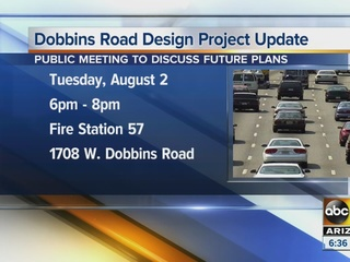 A new design in the works for Dobbins Road