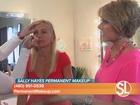 Sally walks us through a makeup consultation