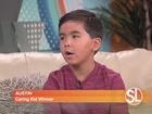 Caring Kid winner Austin