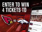 Download our app for chance to win Cards tickets