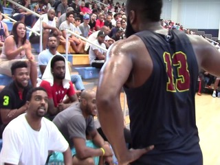Former ASU star James Harden confronts heckler