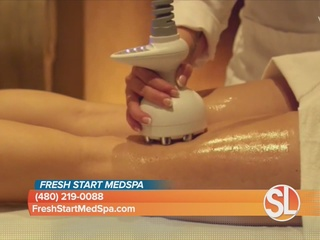 New skin tightening and cellulite treatment