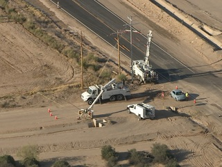 APS worker hurt by electric shock in West Valley