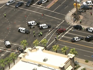 Mesa police ID motorcyclist killed in crash
