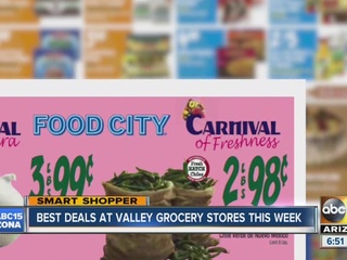 Sneak peek at Valley grocery store deals