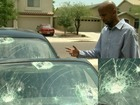 Valley photographer's car damaged by students