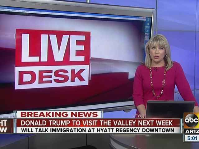 Donald Trump to visit Valley next week