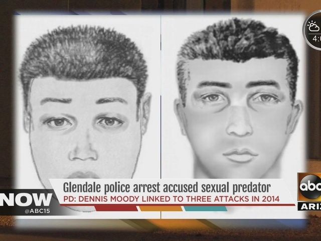 Glendale police arrest man for alleged sexual assaults