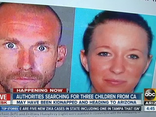 Two sought after woman killed, kids kidnapped