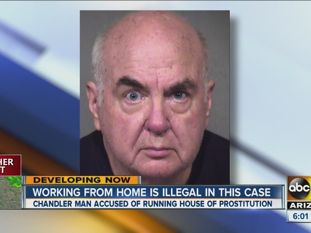 Man accused of prostitution ring at Chandler home