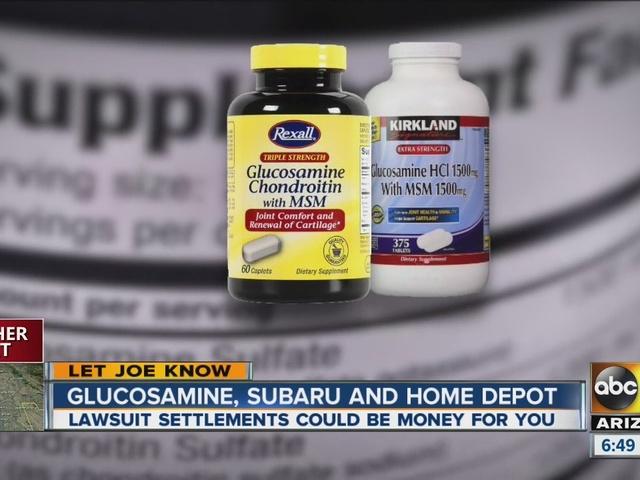 Money back: Buy supplements? Shop at Home Depot?