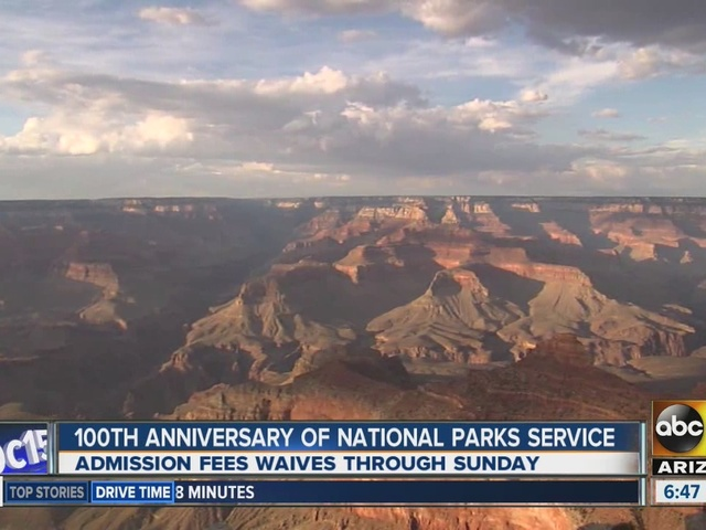 Free entrance and activities to Grand Canyon National Park