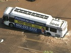 PD: Bus stuck in sinkhole at PHX intersection