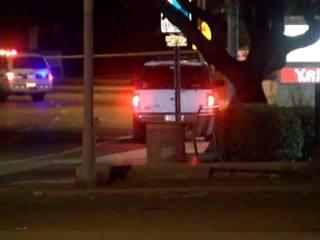Suspected DUI driver blows through crash scene