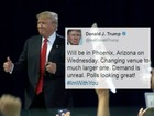 Trump: PHX speech on Wed. moving, not canceled