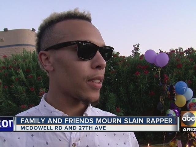 Family, friends mourn loss of slain rapper