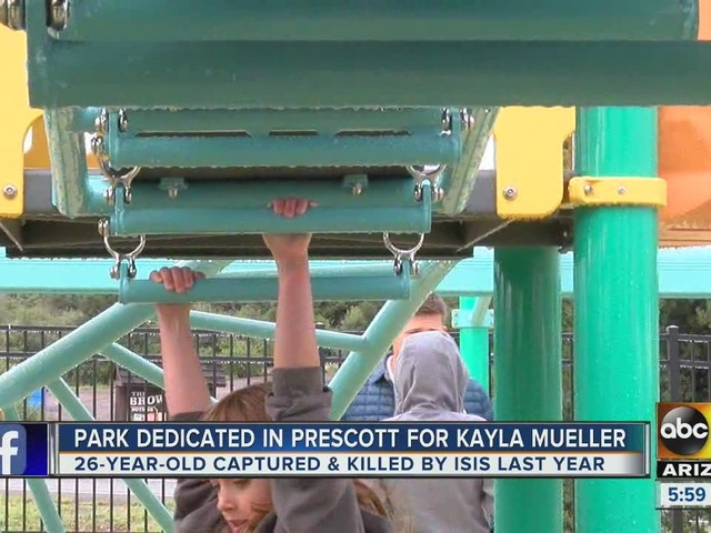 Memory of ISIS victim lives on with Prescott playground dedication