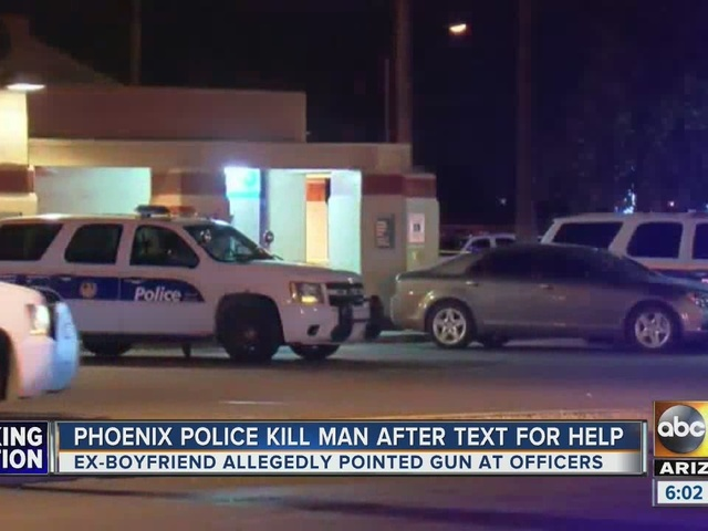 Officer-involved shooting in west Phoenix, 1 suspect dead