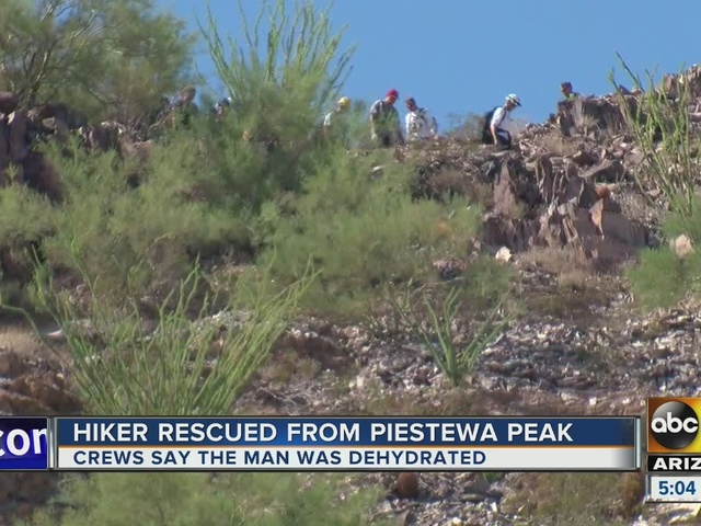 Second person rescued at Piestewa Peak in less than 24 hours