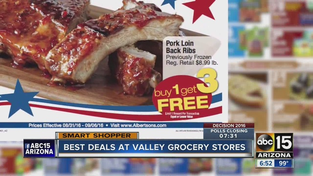 Best Deals At Valley Grocery Stores This Week Abc15 Arizona