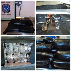 One million worth of drugs seized at Nogales