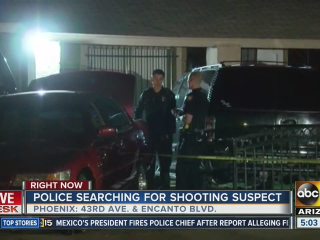 Man shot in arm in PHX drive-by shooting