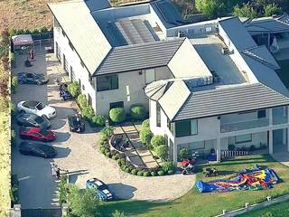 VIDEO: PD at Chris Brown's home after threats