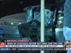 Phoenix man sets car on fire after argument