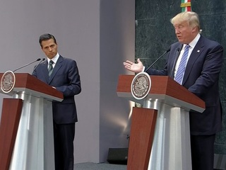 Mexican pres to Trump: we will not pay for wall