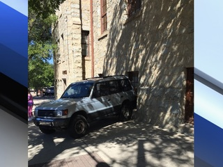 Prescott woman hits SUV, sends it into church